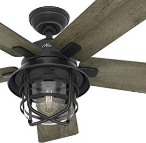 Hunter Outdoor Clear Glass Ceiling Fan Light Kit
