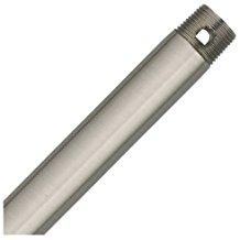 Hunter 12 inch brushed steel downrod